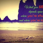 What You See Depends Upon Where You're Standing and Where You're Looking